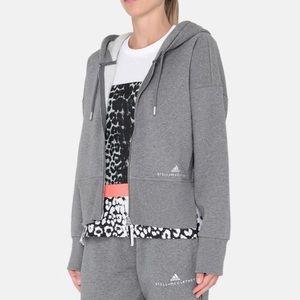 Adidas by Stella McCartney grey essential hoodie